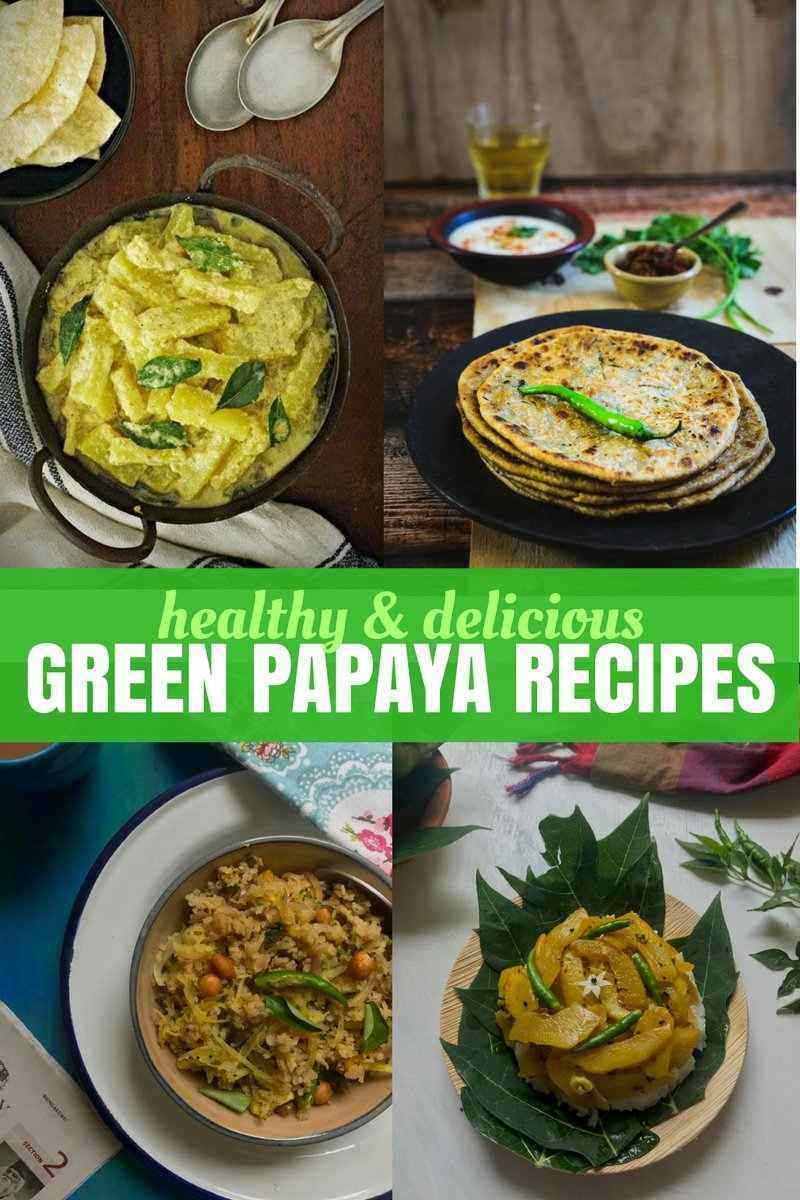 All you want to know about green papayas - health benefits, recipes and cooking ideas