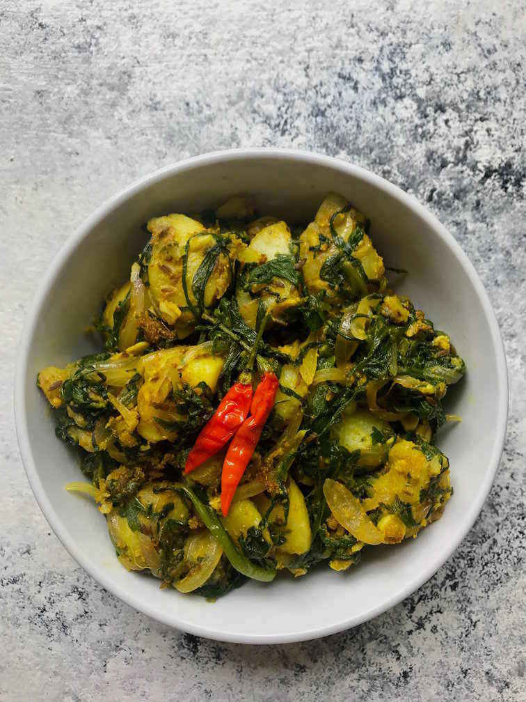 saag aloo recipe