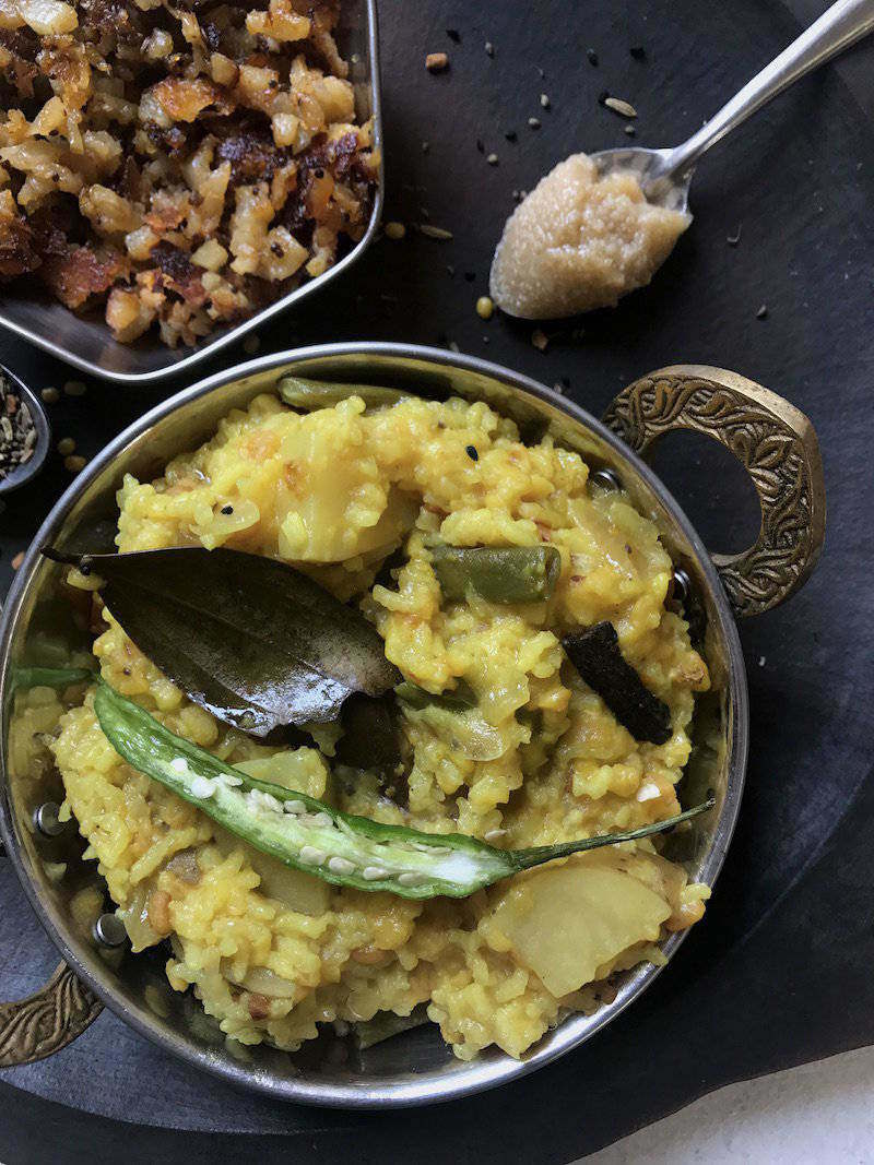 bengali khichuri bhoger khichdi