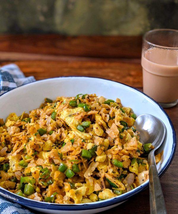Egg Kothu Parota