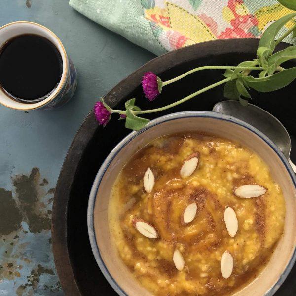 pumpkin oats porridge