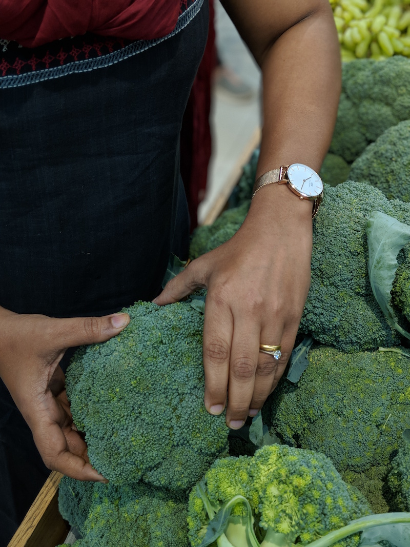 buying broccoli in bangalore