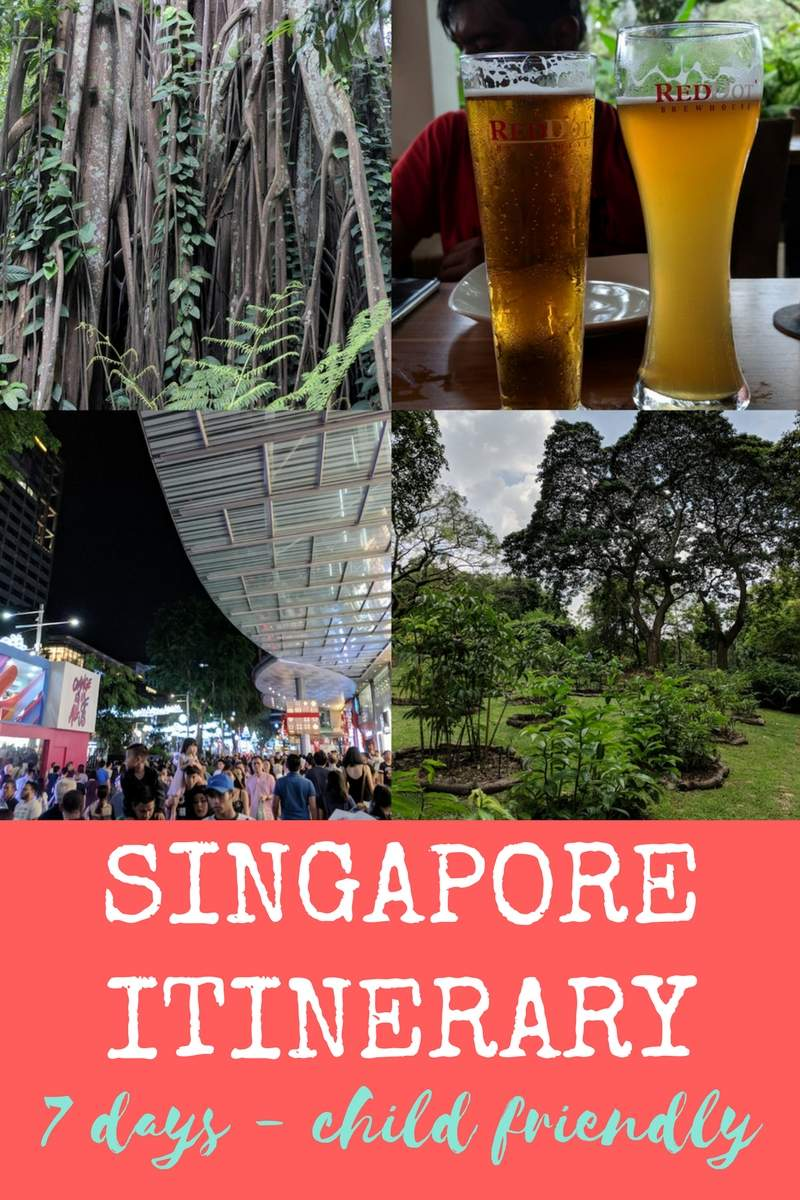 singapore itinerary 7 days with kids