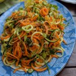 Spiralized Salad for Summer | Skinny Zoodle Salad