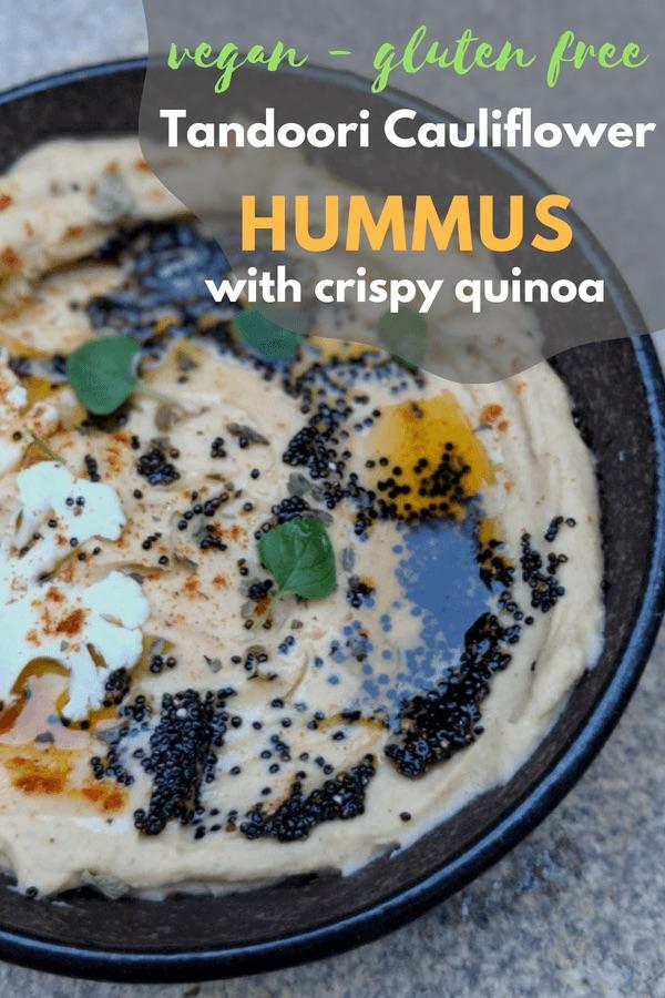 Tandoori Cauliflower Hummus