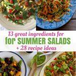 13 Best Ingredients for Summer Salads