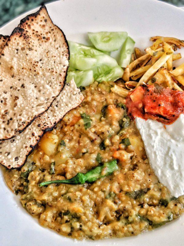 Bajra Khichdi | Pearl Millet Porridge