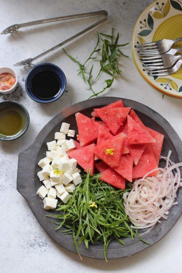 Watermelon Feta Salad Platter