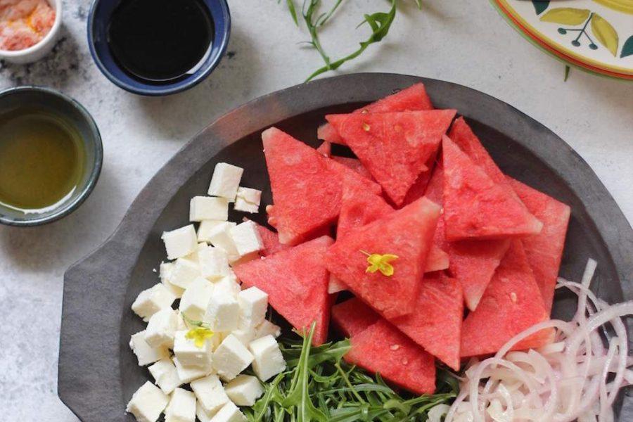 watermelon-feta-arugula-salad-platter