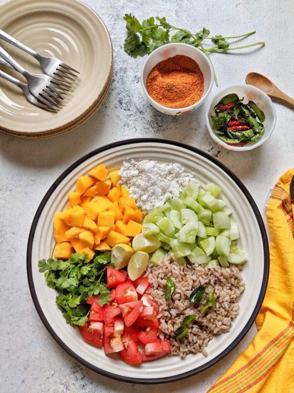 Indian Salad Platter