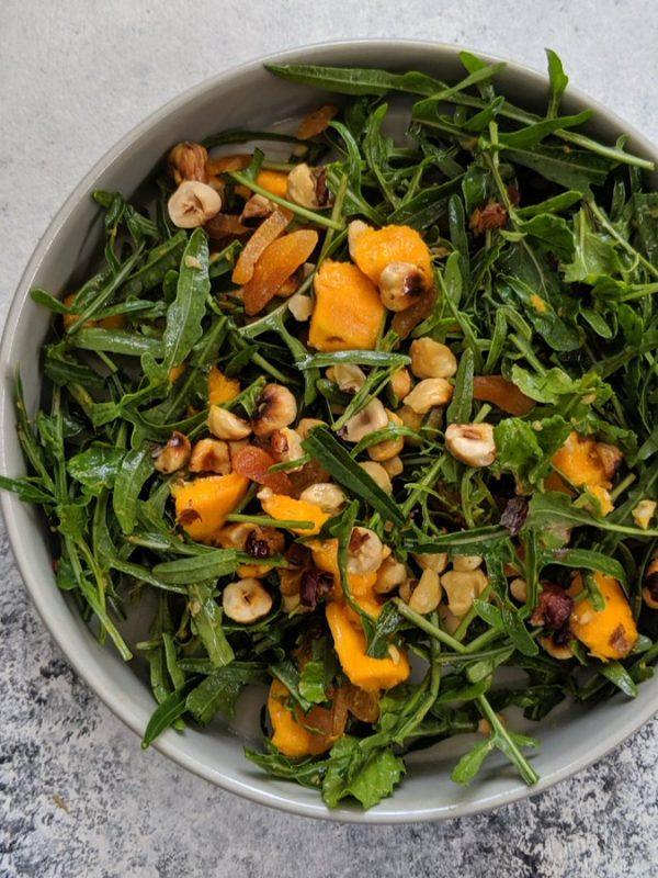 Mango Rocket Hazelnut Salad