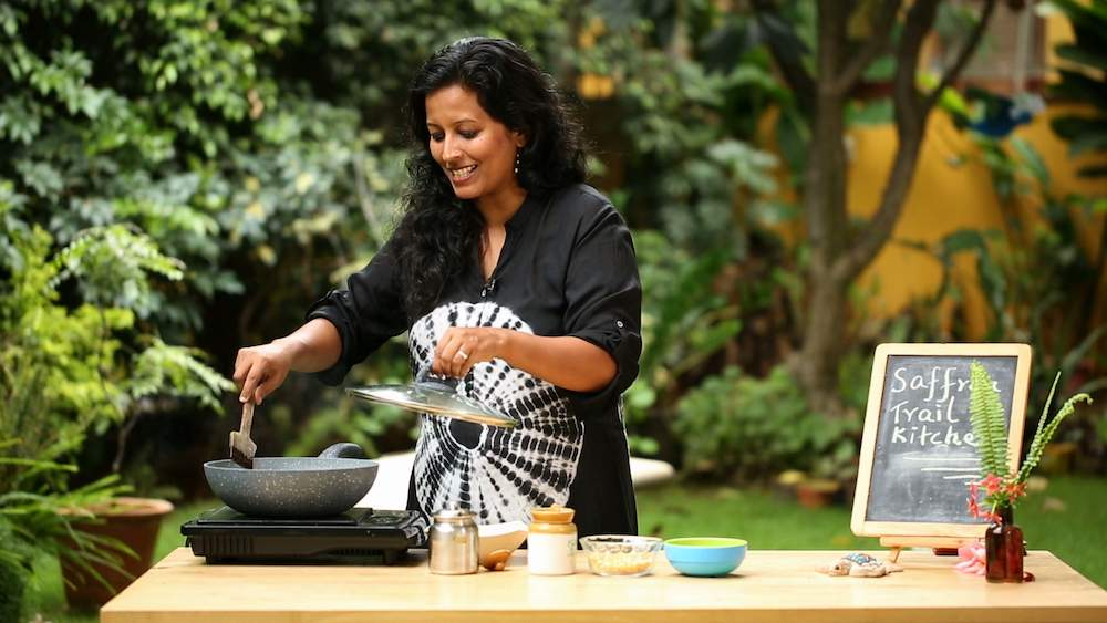 nandita cooking