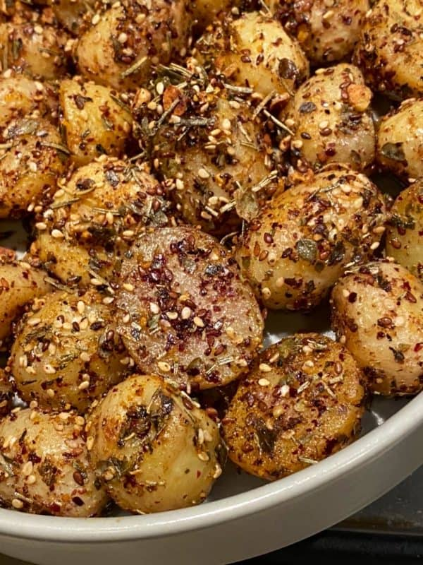 Pan Roasted Baby Potatoes