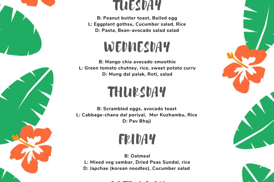 Weekly-menu-plan-vegetarian