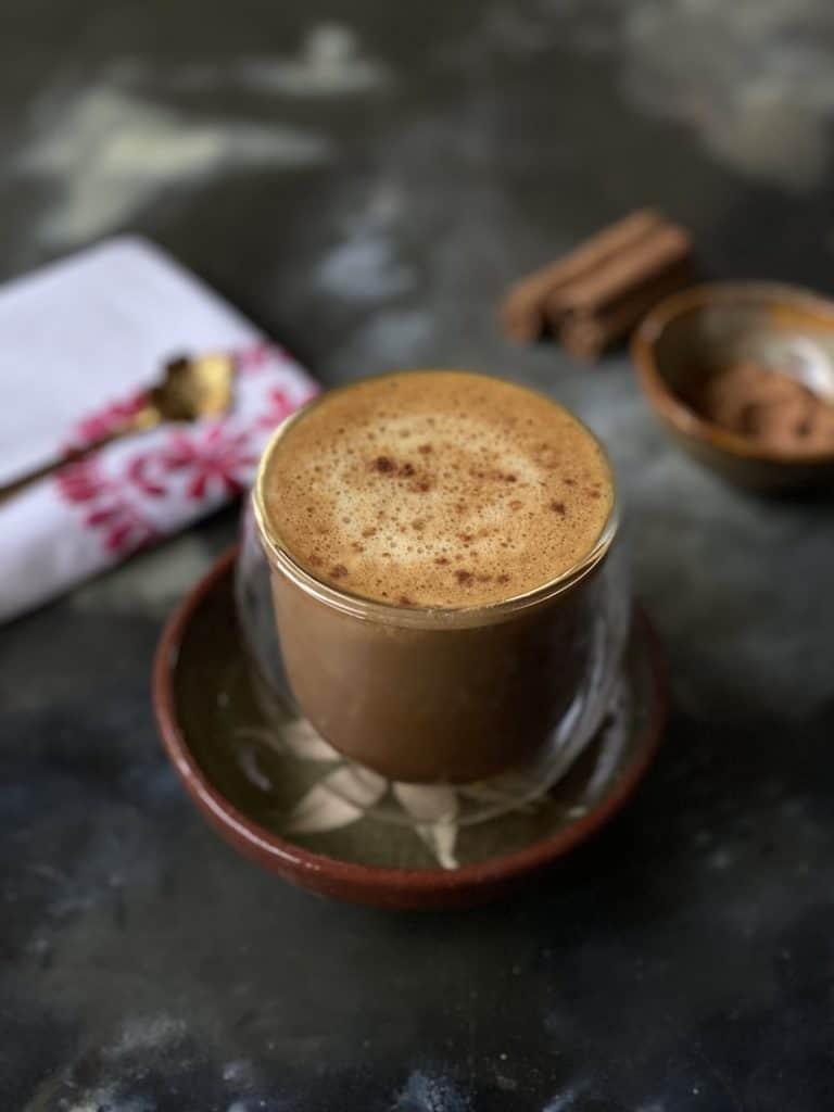 horchata pumpkin spice latte